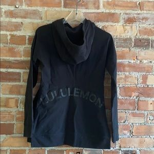 lululemon size 4 limited edition branded hoodie